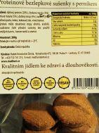 Bezlepkové datlové sušenky s karobem