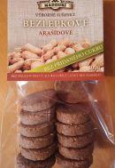 Bezlepkové měkké sušenky arašídové  bez přidaného cukru 200g