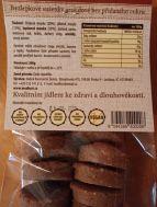 Bezlepkové měkké sušenky arašída 200g Madhuri