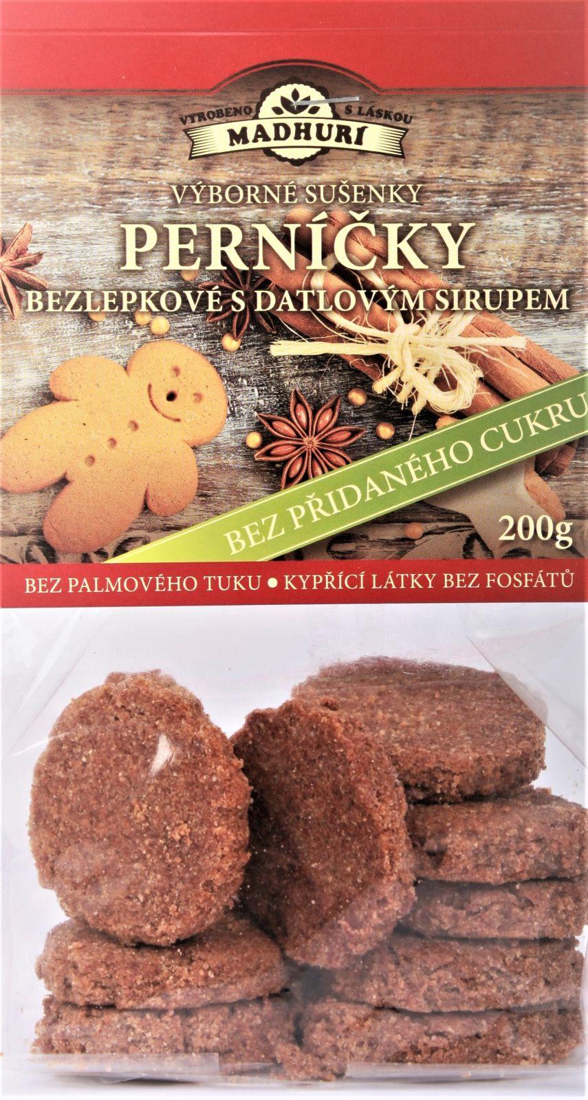 Bezlepkové sušenky perníčky