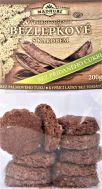 Bezlepkové měkké sušenky s karobem  bez přidaného cukru  200g