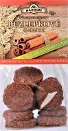 Bezlepkové měkké sušenky se skořicí a bez přidaného cukru 200g
