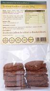 Špaldové karobové sušenky s datlemi