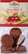 Špaldové měkké sušenky s brusinkou