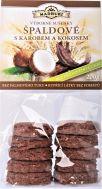Špaldové měkké sušenky s Karobem a kokosem