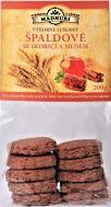 Špaldové sušenky se skořicí a medem