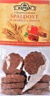 Špaldové křehké sušenky se skořicí a medem  200g